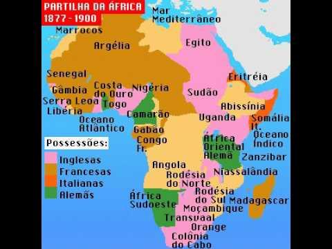 Partilha da África - 1877 a 1990