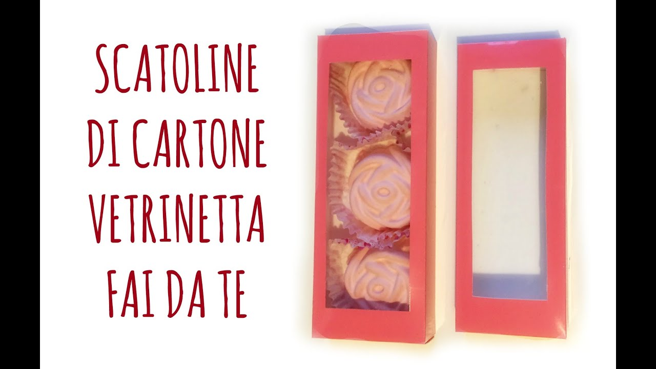 "Preferenza Come fare Scatoline di Cartone ""Vetrinetta"" perfette! (Party  LP19"