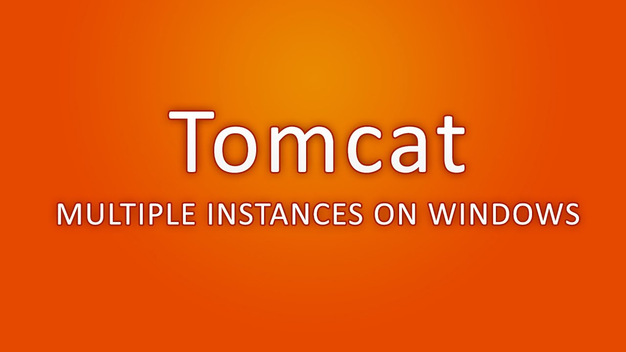 Tomcat multiple instances on windows youtube tomcat multiple instances on windows 1betcityfo Image collections