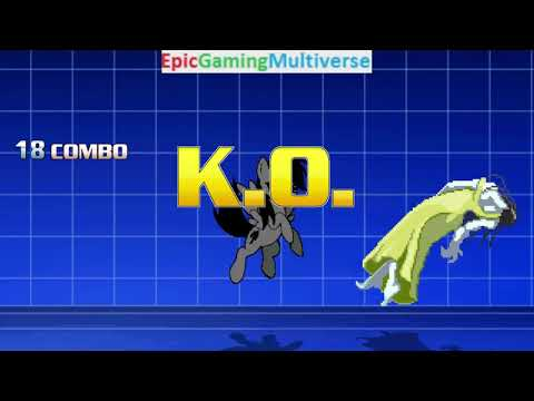 S-KO VS Dreamy Rainbow On The Hardest Difficulty In A MUGEN Match / Battle / Fight