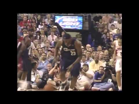 Lebron James vs Pistons Game 1 Playoff 2007 (May 21, 2007)