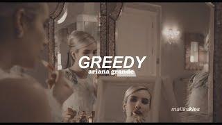 Ariana Grande - Greedy (Traducida al español)