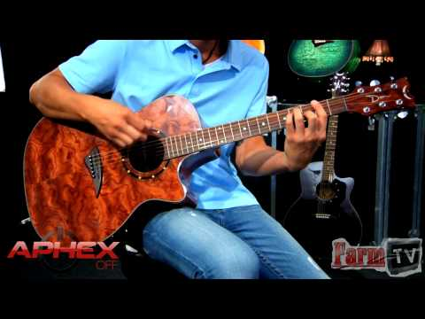Dean Exotica Series Acoustic Electric Guitar with Aphex