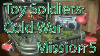 toy soldiers cold war walkthrough mission 5 mind the gap gameplay commentary xbox 360