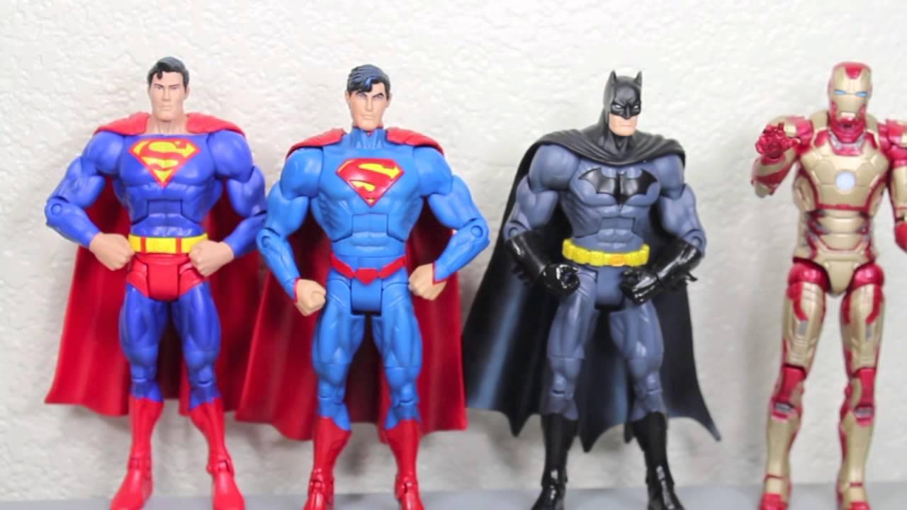 2c388ebfc5b1 DC Universe All Stars New 52 Superman   Batman Action Figure Review -  YouTube