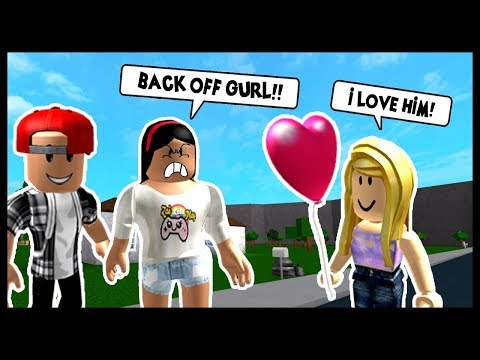 SHES TRYING TO STEAL MY BOYFRIEND, I HAVE TO STOP HER! - Roblox