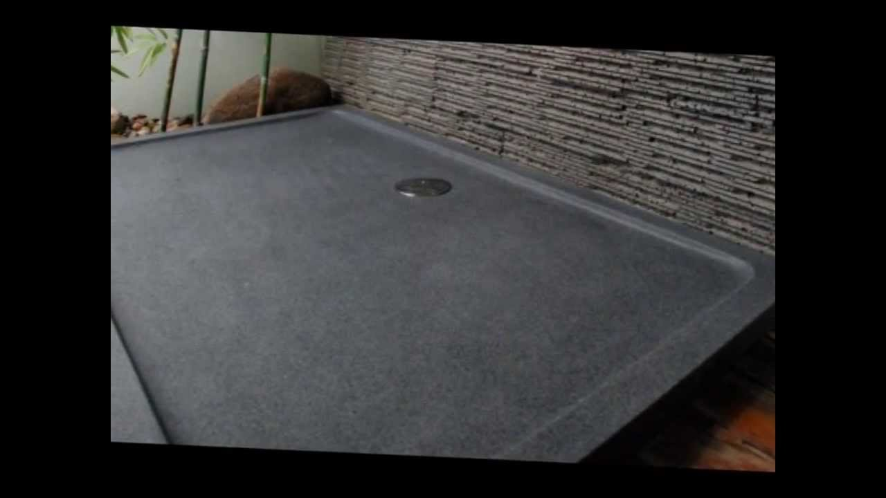 Granite Shower Bases   Shower Trays High End Luxurious Bathroom Designed By  Livingu0027ROC   YouTube