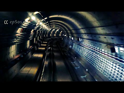 Beautiful Underground Tunnel of Singapore Metro