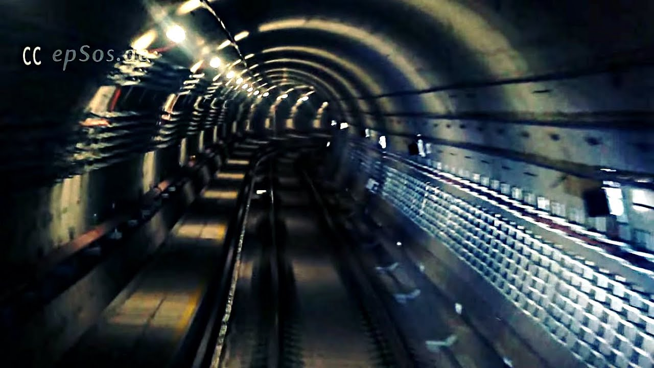 Beautiful Underground Tunnel of Singapore Metro  YouTube