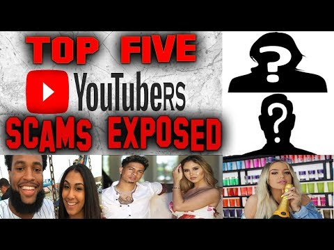 Top 5 Youtube Scammers hosted by Martin Louis and Nique at Nite