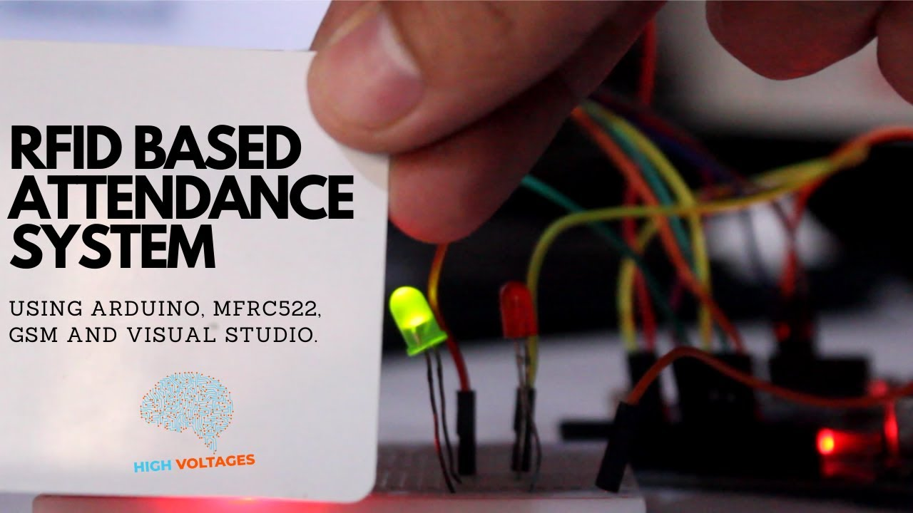 RFID BASED ATTENDANCE SYSTEM USING ARDUINO AND GSM: 5 Steps