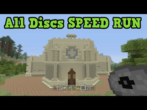 Minecraft TU31 Tutorial World ALL MUSIC DISC Speed Run