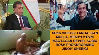 Интим видеоси тарқалган мулла, Мирзиёевни мақтаб куйлаган реперлар