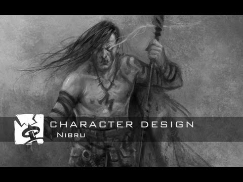 Painting Demo: Nibru