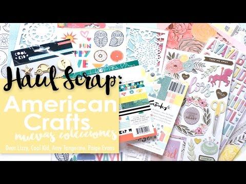 Haul Scrapbooking: Las nuevas colecciones de American Crafts