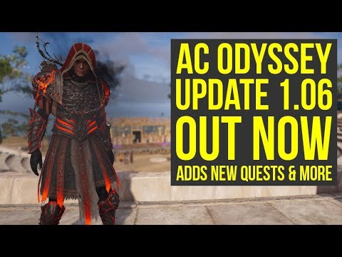 Assassin's Creed Odyssey Update 1.06 OUT NOW - Adds Free New Quests, New Features & More (AC Odyssey