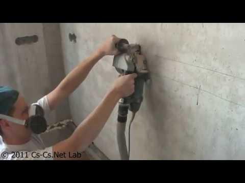 Cs-Cs: Руководство по штроблению бетона 3 - Штроборез
