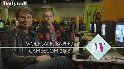 Wolfgang Bahro und Sohn auf der Gamescom | Dailywall