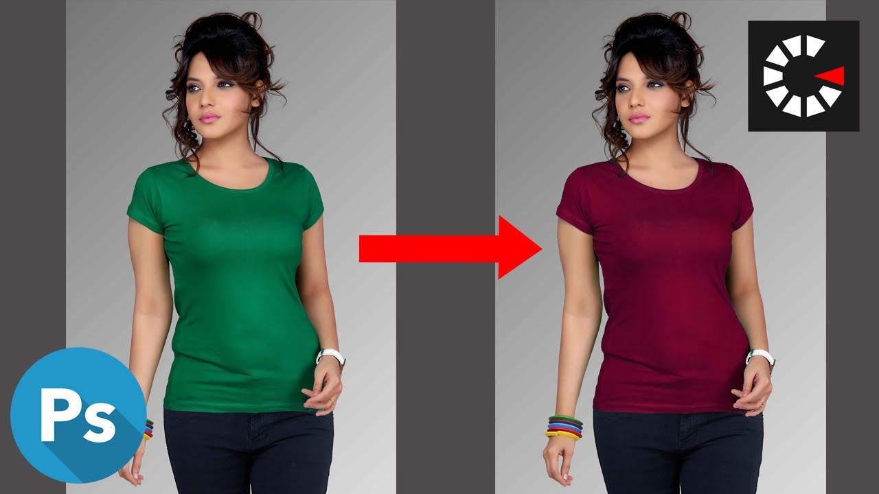 Photoshop Tutorial 2 Mengganti Warna Baju G Tutorial Youtube
