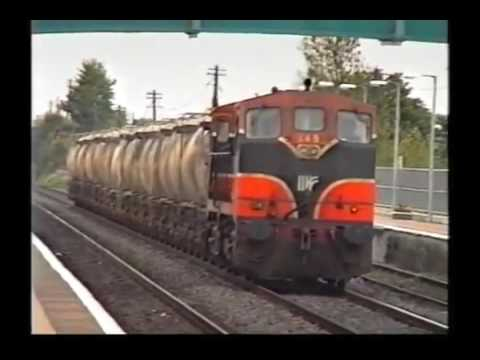 2600 Railcars Arrival in Dublin port