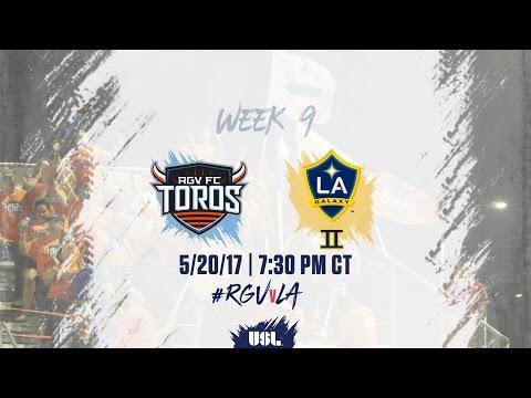 USL LIVE - Rio Grande Valley FC vs LA Galaxy II 5/20/17