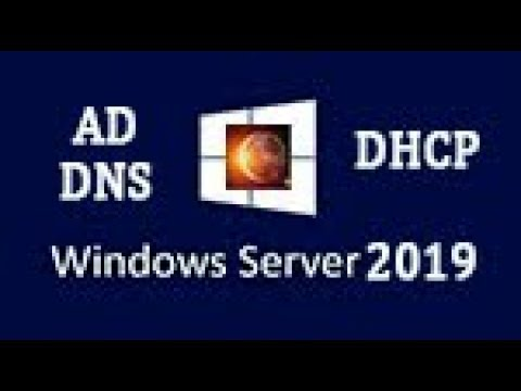 Windows Server 2019 - установка и настройка AD, DNS, DHCP