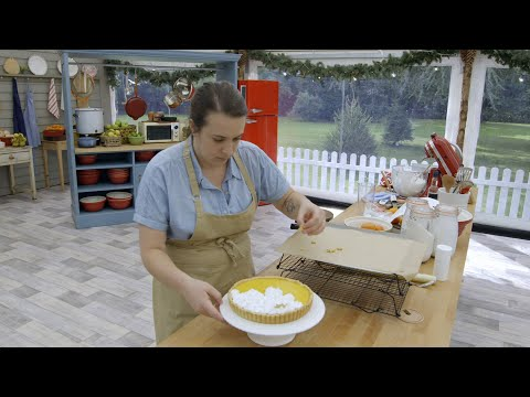 Finishing Touches On Tarts - The Great American Baking Show: Holiday Edition