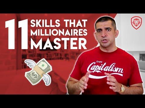 11 Skills that Millionaires Master