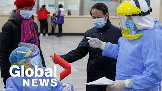 Coronavirus outbreak: confirmed cases soaring in China; new case in Canada