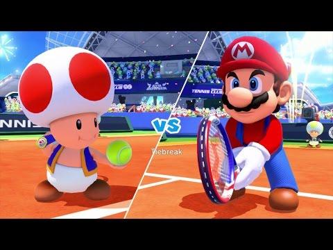 Download Mario Tennis: Ultra Smash Walkthrough Part 3 - Knockout Challenge (Unlocking Star Toad)