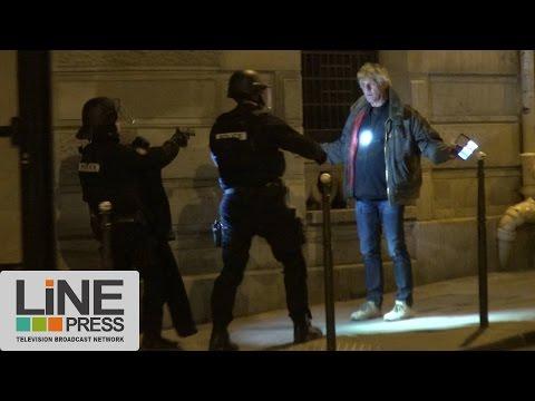 Attaque terroriste aux Champs Elysées /Paris - France 20 avril 2017