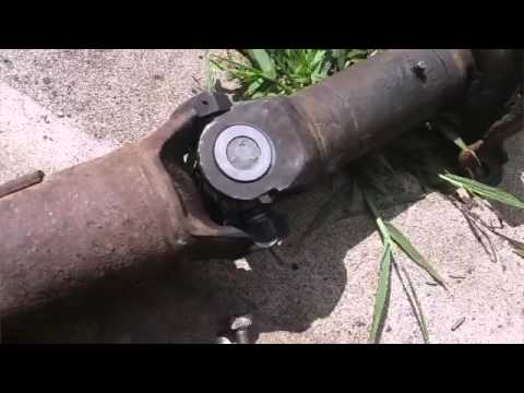 1997 chevy s10 extended cab drive shaft