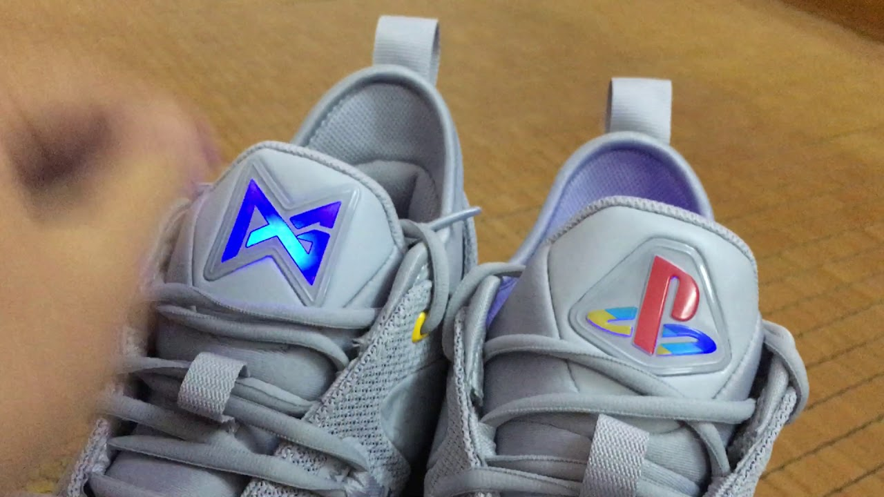 quality design 01f4c 9f41e Unboxing Nike PG2.5 PS4 - YouTube