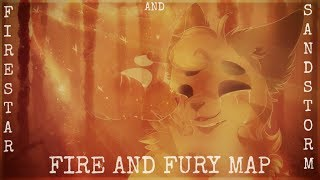 Fire and Fury  Warrior Cat MAP (Firestar x Sandstorm) [COMPLETE] (13+)