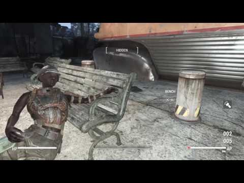 Fallout 4: Vault 88 supply run. PS4 (Survival Difficulty)