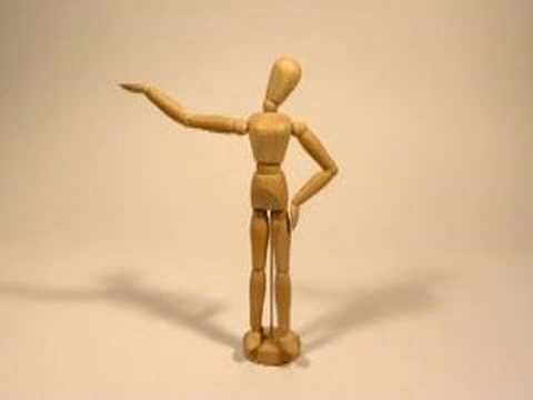 Wooden model - Stop motion animation -