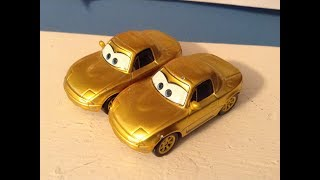 Disney Cars Gold Mia and Tia Review