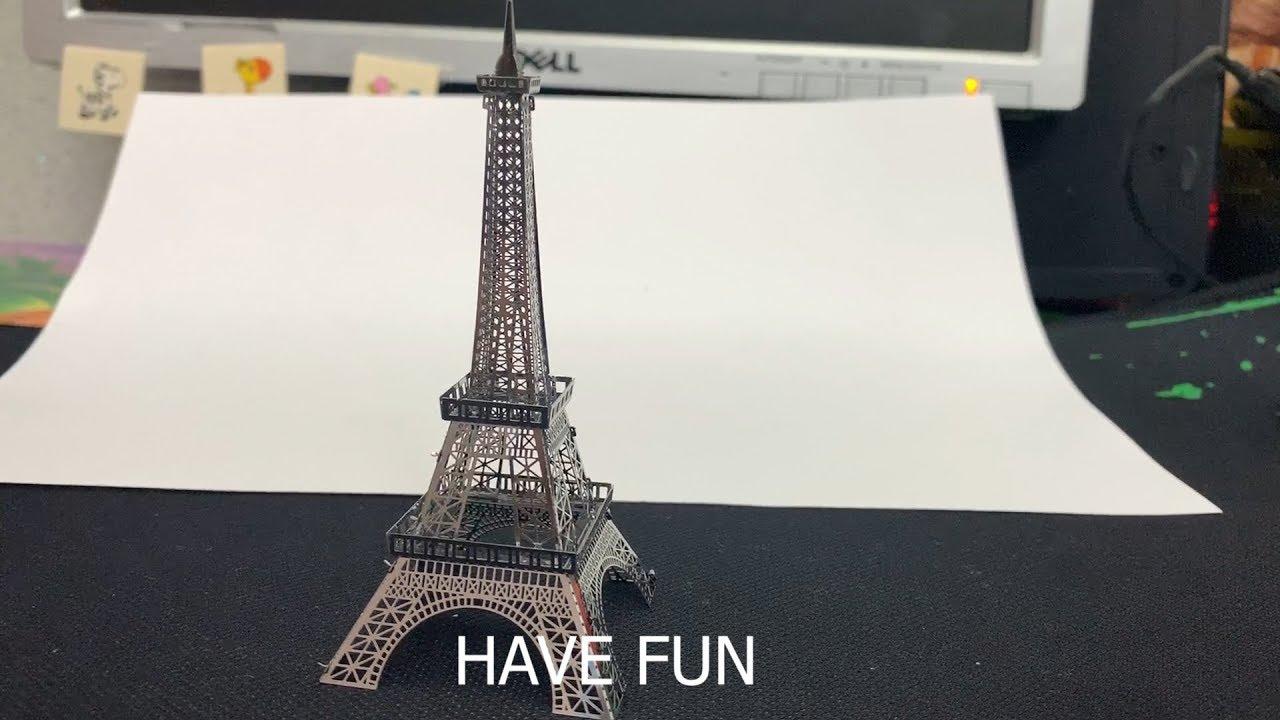 Eiffel Tower Paris- Tháp Eiffel Pháp- Build The World 2