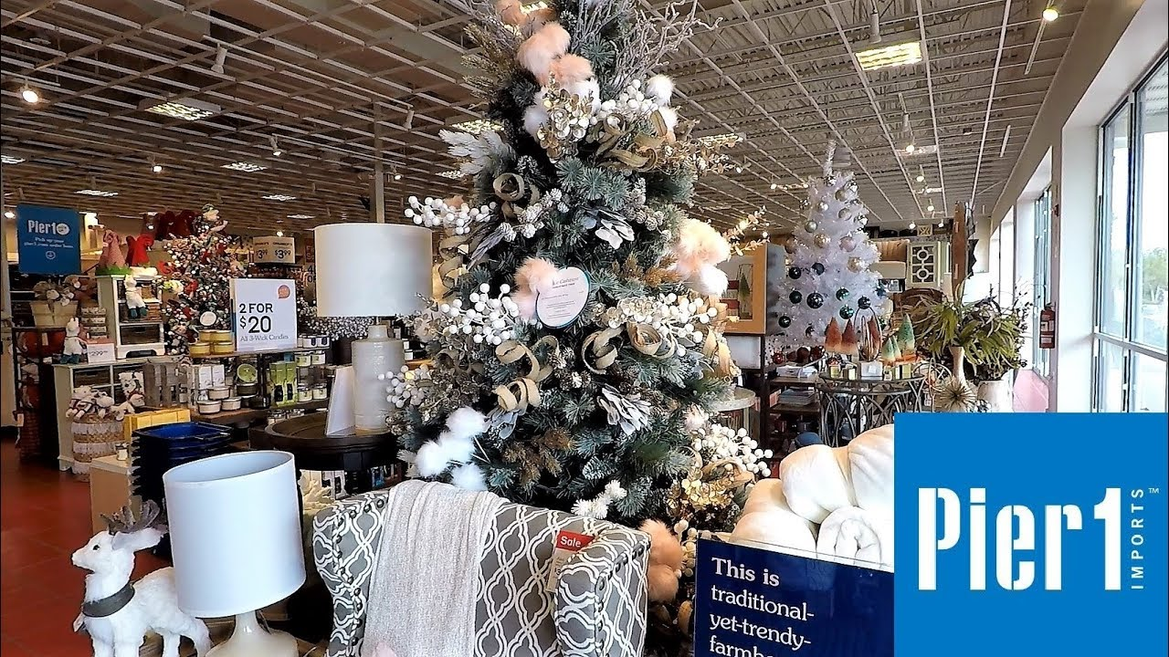 Pier 1 Christmas Ornaments.Christmas 2018 At Pier 1 Imports Christmas Shopping Ornaments Decorations Home Decor