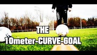 NEW WORLD RECORD ? | THE 10meter-CURVE GOAL | SOCCER