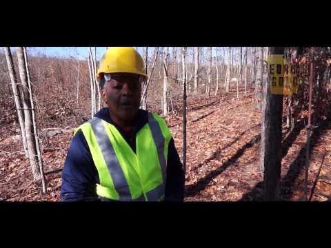 Georgia Gold w Sonya Davis of D&W Mining Co.
