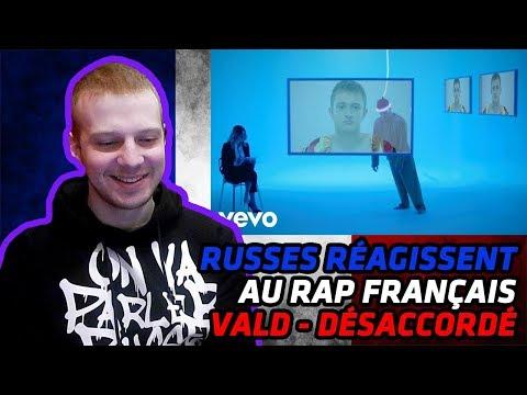 RUSSIANS REACT TO FRENCH RAP | Vald - Désaccordé | REACTION