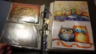Способы хранения открыток. посткроссинг postcrossing