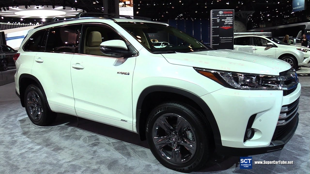 2017 toyota highlander hybrid limited exterior and - Toyota highlander hybrid interior ...
