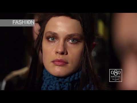 TXELL MIRAS Backstage 080 Barcelona Fashion Fall Winter 2018 19 - Fashion Channel