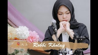 ROBBI KHOLAQ Live Cover By Dini Atika Feat MAS Music