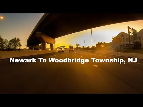 Newark To Woodbridge Township, New Jersey, USA