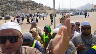 Visit of Arafat 3 September 2016 .just before Hajj