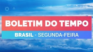 Previsão Brasil - Temporais no SE e CO