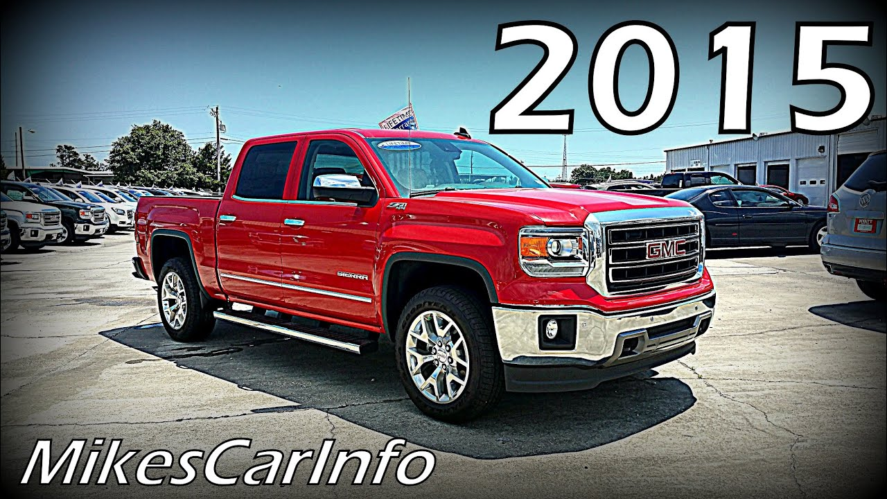 2015 gmc sierra 1500 crew cab short box 4 wheel drive slt z71 youtube